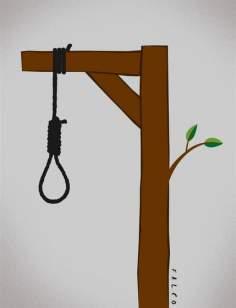 Muerte y vida (Caricatura)