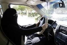 La donna araba musulmana-La guida