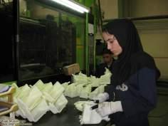 Mujer en la fábrica- mujer musulmana y trabajo