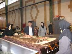 Mujer empresaria textilera -muslim woman