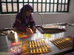 Mujer artesana -mujer musulmana