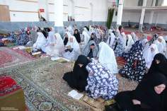 Muslim woman in a prayer meeting - 3