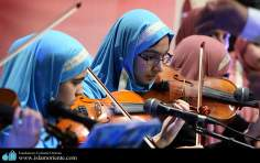 Iranian Muslim Teenagers and Music