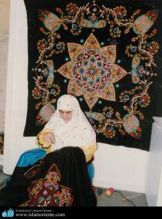 Muslim Woman / art and handicrafts in the Islamic Republic of Iran