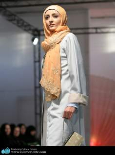 Muslim Woman and casual dress
