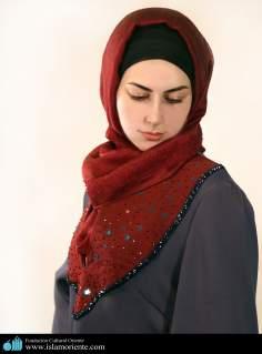 Mujer musulmana y desfile de moda - 52