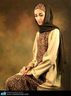 Muslim woman and Islamic dress