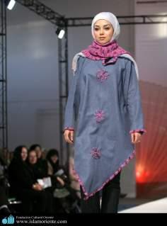 Hijab und Mode - Muslimische Frauen in Iran - Muslimische Frauen und Modeschau