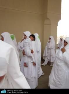 Mulheres muçulmanas na pratica de atividades religiosas - 5