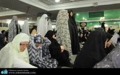 Mulheres muçulmanas na pratica de atividades religiosas - 3