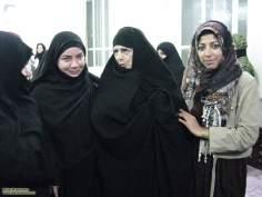 Mulheres muçulmanas em um encontro sócio cultural - 1