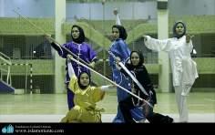 Femme musulmane et le sport - Parcticipation des femmes musulmanes aux arts martiaux