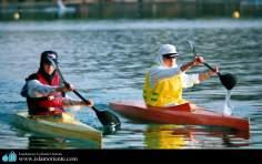 ورزش و زنان مسلمان - ورزش قایقرانی زنان مسلمان ایران - 91