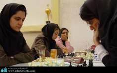 رياضة الشطرنج للنساء المسلمات الإيراني - 95