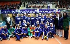 イスラム教の女性のヒジャーブ - 女子バレーボール