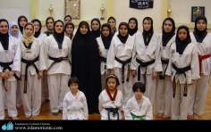 Muslim Women and Sport - Participation in Martial Arts / Iran.