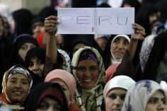 Femmes musulmanes en hijab entrain de manifester  - 47