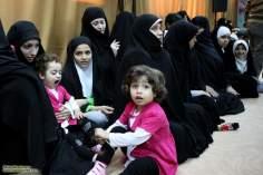 Mulheres muçulmanas com suas filhas