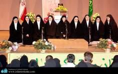 Mulheres muçulmanas em atividades religiosas