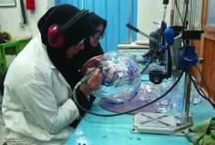 مسلمان خواتین اور معاشرہ - حجاب کے ساتھ ریسرچ کاموں میں شریک، ایران