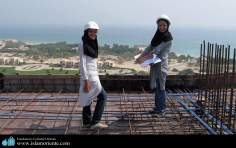 Muslim woman and engineering