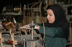 Na industria, politica, forças armadas no esporte... a mulher muçulmana sempre presente na vida cotidiana da nação