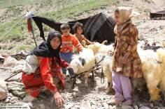 Работа мусульманских женщин - Пастушка