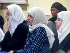 Mujeres  musulmanas de diferentes razas