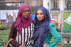 Lo hijab delle donne arabe,unità e solidarietà