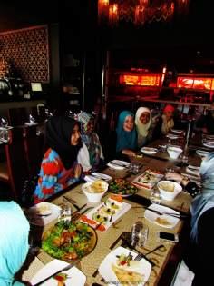 Mujeres musulmanas asiáticas