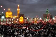 Mujeres musulmanas en un patio del santuario del Imam Rida (P) – Mashhad – 106