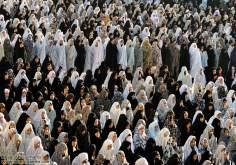Mujeres musulmanas en la oración - 200