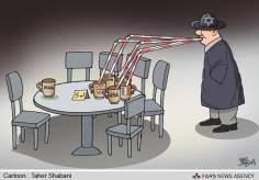 Les négociations nucléaires entre l'Iran et le groupe 5 + 1(Caricature)