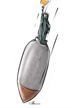アメリカ核爆弾の新しい証明書(漫画)