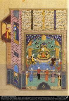 Masterpieces of Persian Miniature, taken from Shahname by the great iranian poet Ferdowsi - Shah Tahmasbi Edition - 15