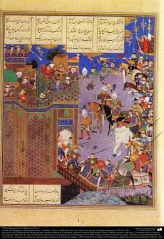Obras-primas da miniatura persa - Extraído do épico Shahnameh do grande poeta iraniano Ferdowsi, edição Shah Tahmasbi - 17