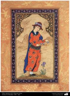 Masterpieces in persian miniature - Artist: M. Honarkar- 2001 (5)