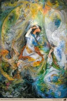 Chefs-d'oeuvre de la miniature persane; Artiste: Professeur M. Farshchian - 1