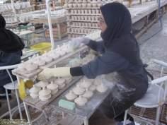 イスラム教の女性の仕事 - セラミック作業の労働者 - 40