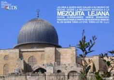 Glória a quem fez viajar seu servo a noite, desde a mesquita sagrada até a mesquita distante cujo ambiente Nós abençoamos...