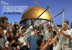 Sem dúvida triunfará no final a frente da verdade do povo lutador e oprimido da Palestina