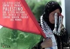 A opressão contra o povo palestino que está ocorrendo hoje, nunca se fez contra nenhum povo do mundo