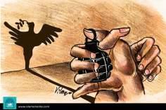 Caricatura - Paz...