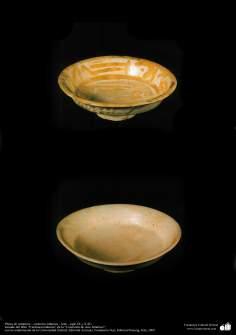 Platos de cerámica – cerámica islámica – Irak - siglo IX y X dC.