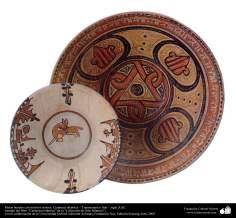 Bols avec des motifs mixtes. La poterie islamique - Transoxiane et l'Iran - X siècle après JC.