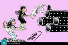 Caricatura - Querer é poder