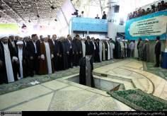 Realización de la oraciñon de Eid al-Fitr, en Teherán