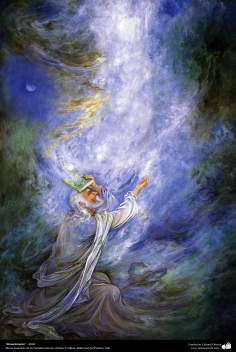 Renaissance - 2002 - Persian painting (Miniature) - by Prof. M. Farshchian