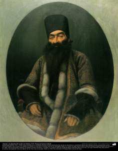 """Portrait"" of Fathollah Mirza Shoa as-Saltane; 1920, Painting by Kamal ol-Molk"