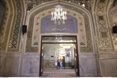 Linda decoração e ornamentação da sala Dar al-Hedaya (a Casa da Guia)- Santuário Imam Rida (AS)